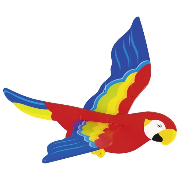 Carusel din lemn - Papagal imagine edituradiana.ro