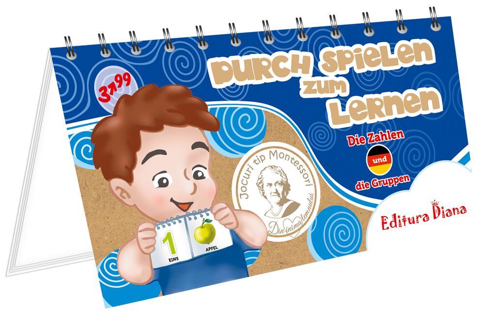 Cifre și grupe - Învăț prin joc - Limba germană imagine edituradiana.ro