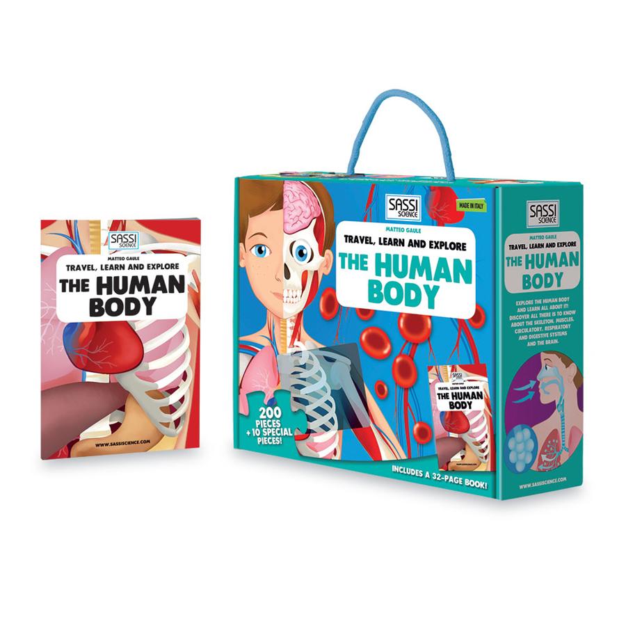 Călătorește, învață și explorează - Corpul uman imagine edituradiana.ro