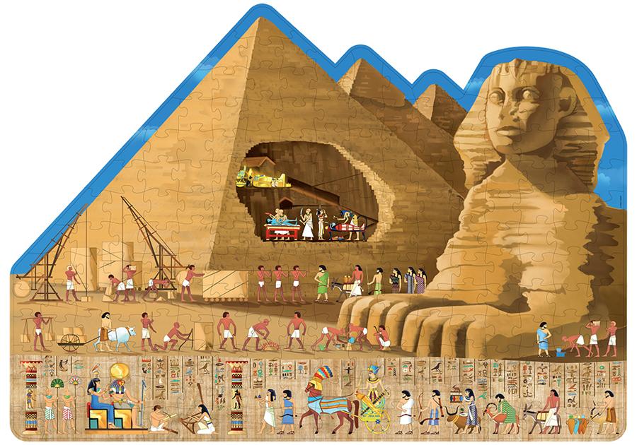 Călătorește, învață și explorează - Egiptul antic imagine edituradiana.ro