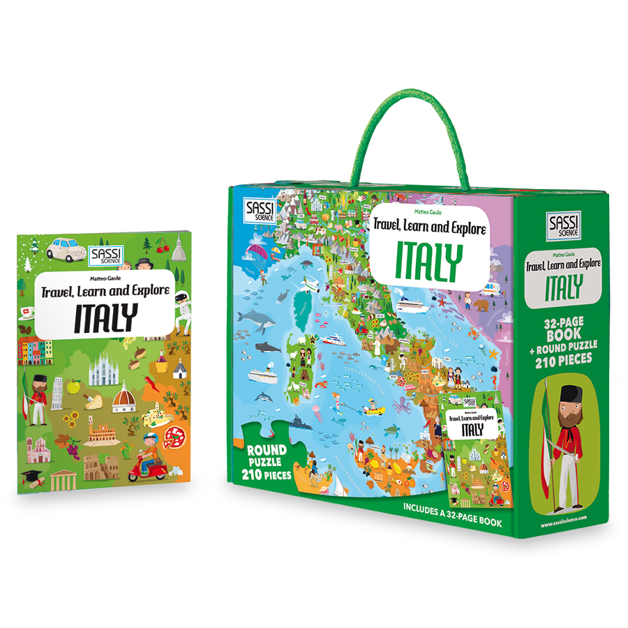 Călătorește, învață și explorează - Italia imagine edituradiana.ro