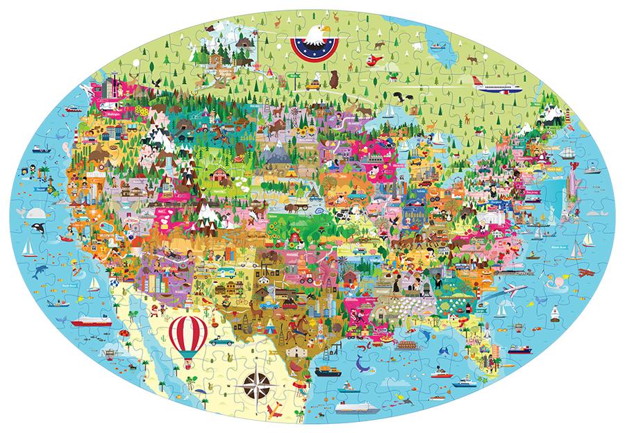 Călătorește, învață și explorează - SUA imagine edituradiana.ro