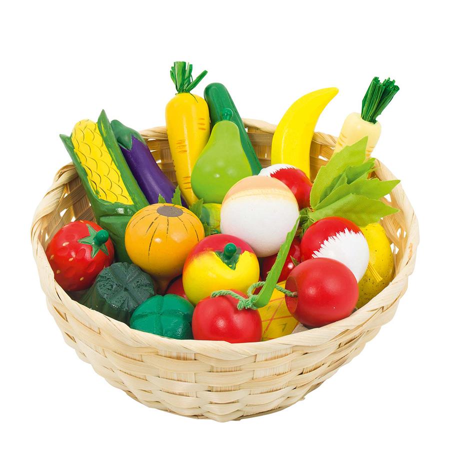 Coș cu fructe și legume imagine edituradiana.ro