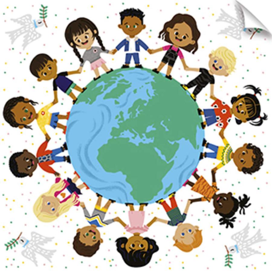 Colecție UNICEF - Puzzle cu 30 de piese ClaireFontaine imagine edituradiana.ro