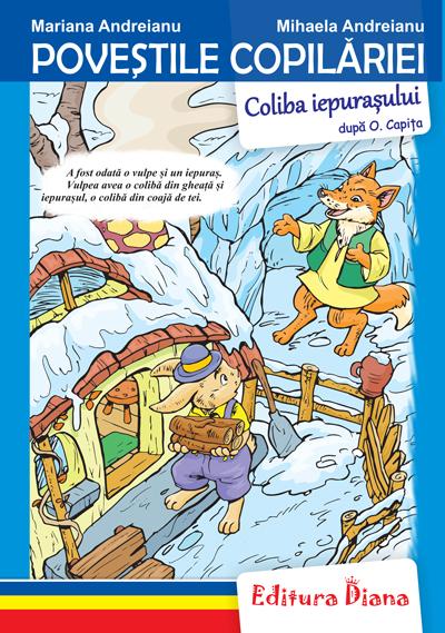 Coliba iepurașului - Poveștile copilăriei - Tip Acordeon imagine edituradiana.ro