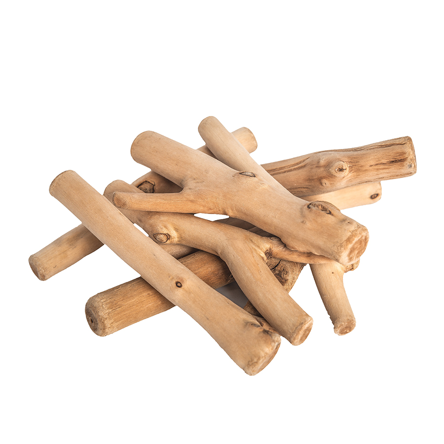 Crenguțe din lemn natural - 250 gr imagine edituradiana.ro