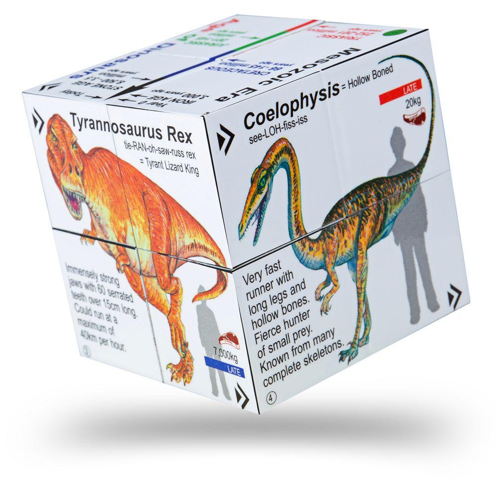 Cub educativ pliabil - Dinozauri. T-Rex & Prietenii imagine edituradiana.ro