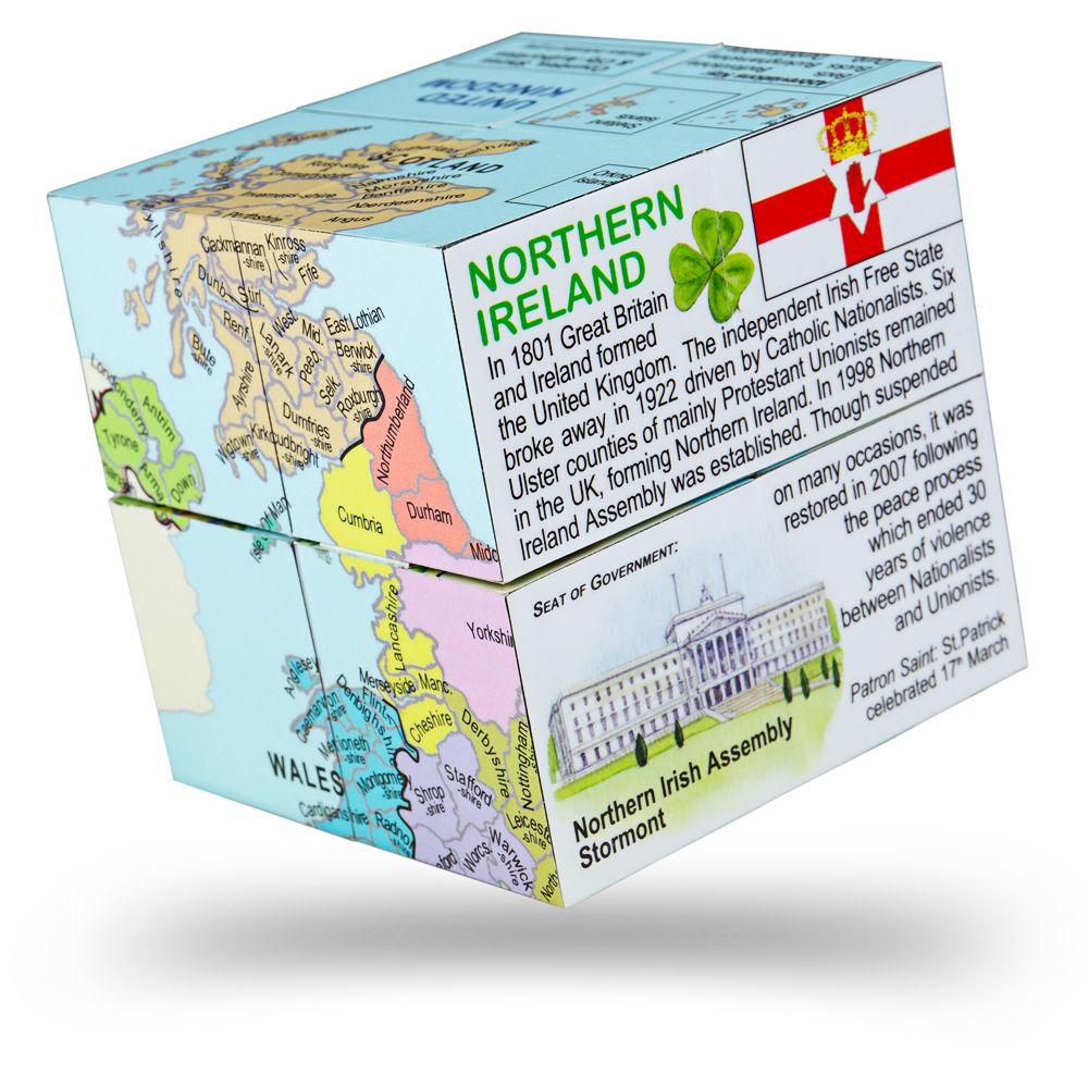 Cub educativ pliabil - Marea Britanie imagine edituradiana.ro