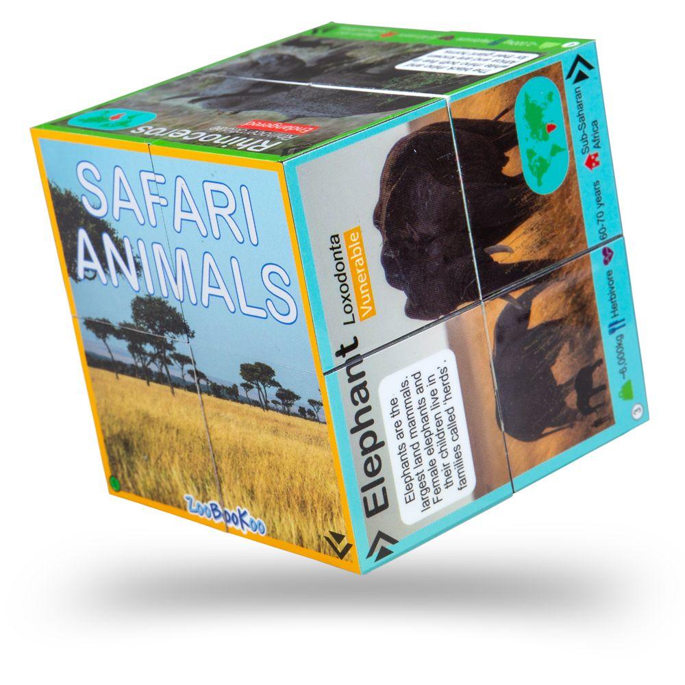 Cub pliabil - Animale din safari imagine edituradiana.ro