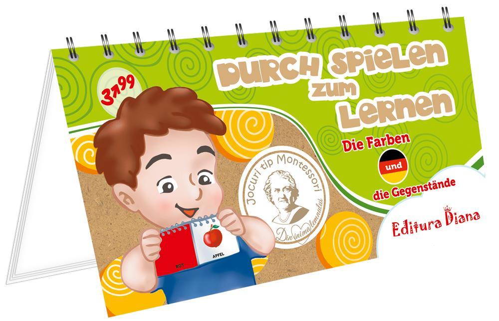 Culori și obiecte - Învăț prin joc - Limba germană imagine edituradiana.ro