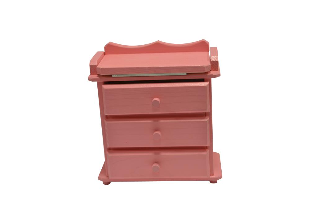 Dulăpior roz pentru păpuși imagine edituradiana.ro