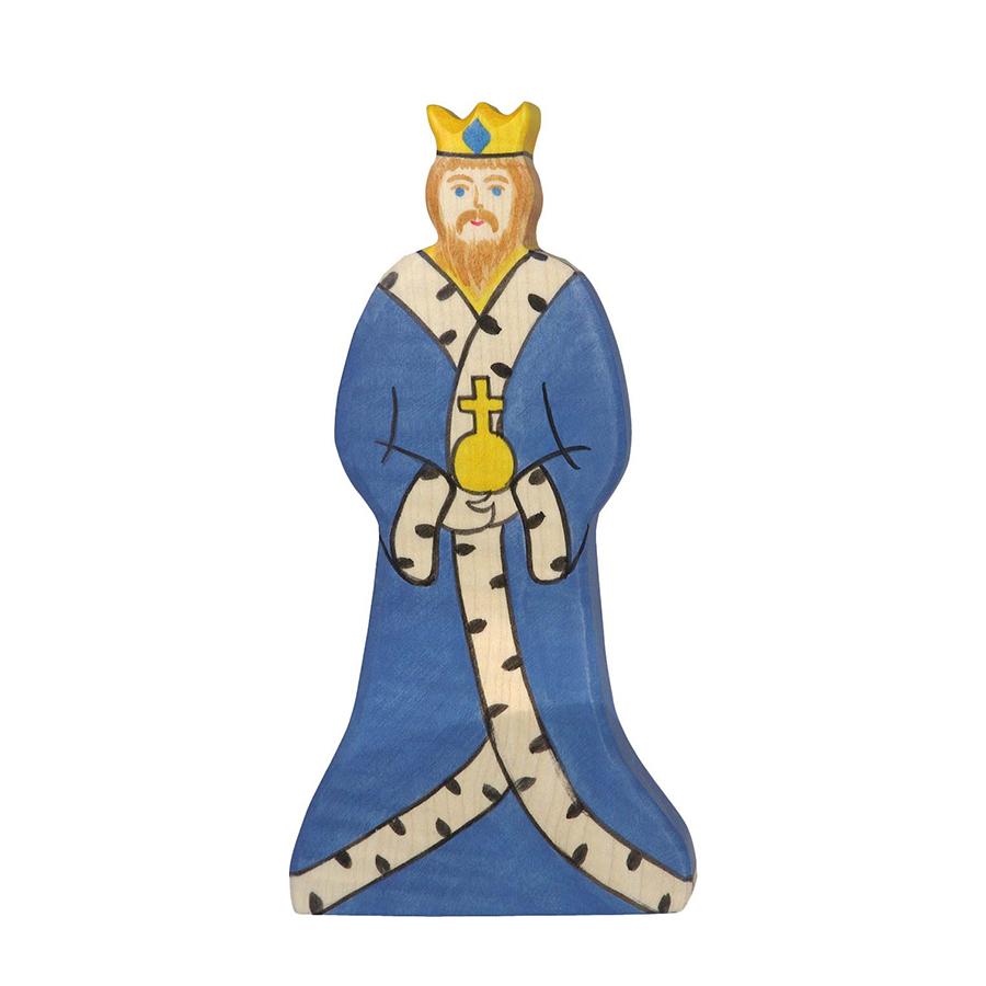 Figurină din lemn - Rege imagine edituradiana.ro