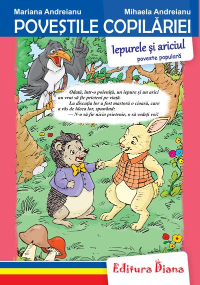 Iepurele și ariciul - Poveștile copilăriei - Tip Acordeon imagine edituradiana.ro