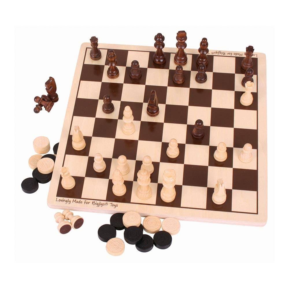 Joc 2 în 1: Șah și Dame imagine edituradiana.ro
