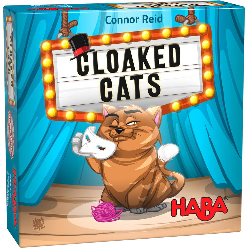 Joc de deducție cu 68 de cărți și 68 de piese din carton - Pisicile mascate imagine edituradiana.ro