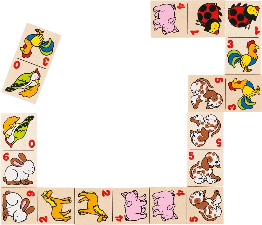 Joc de domino - Animăluțe imagine edituradiana.ro
