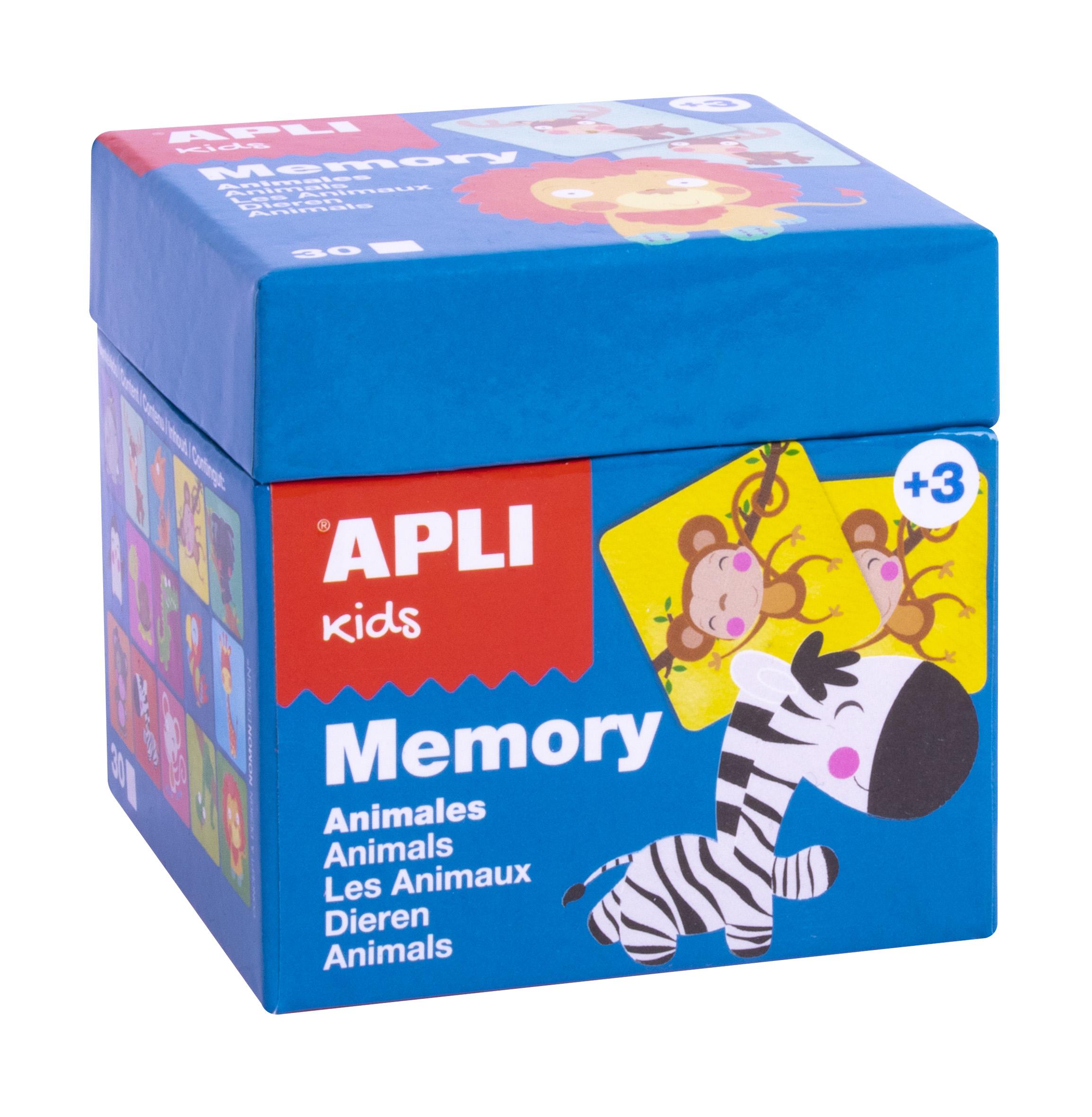Joc de memorie cu 30 de piese - Animale imagine edituradiana.ro