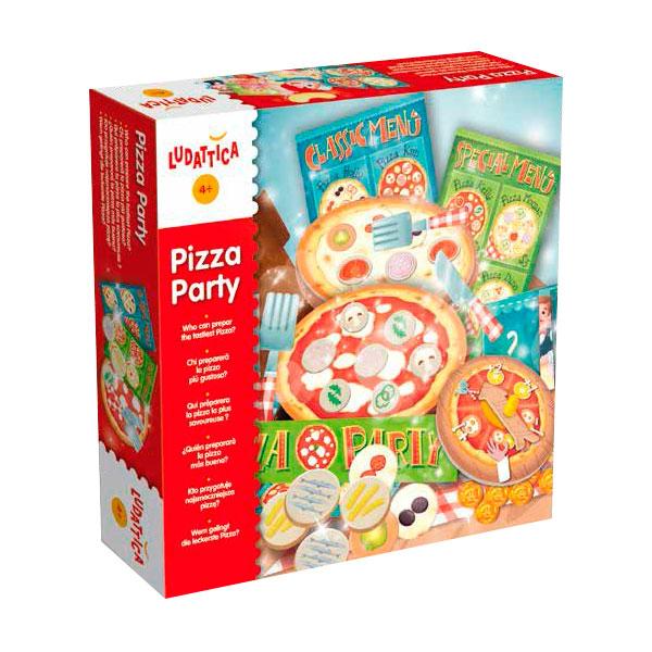 Joc de rol Pizza Party cu 90 de piese imagine edituradiana.ro