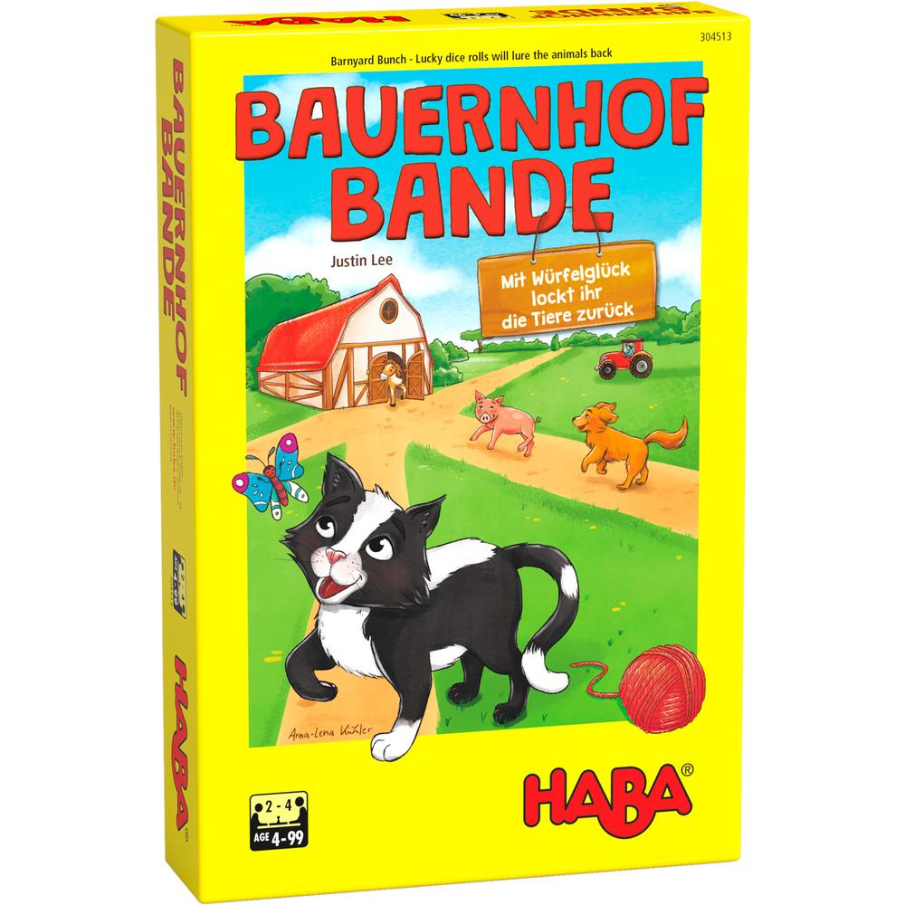 Joc de societate cu 18 piese cartonate, 1 pachet de cărți și un zar - Animalele de la fermă imagine edituradiana.ro