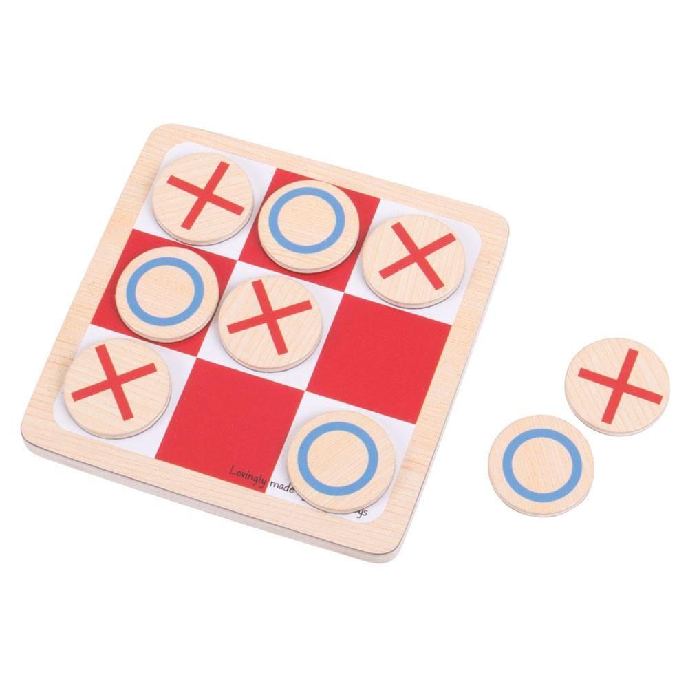 Joc din lemn X și O imagine edituradiana.ro