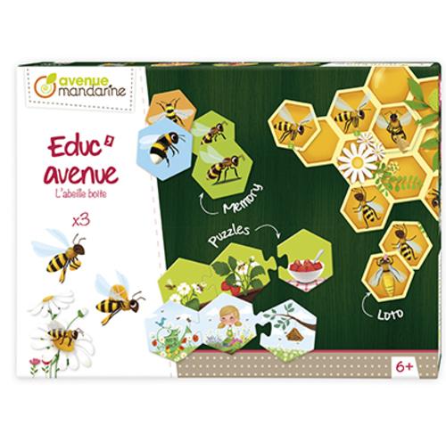 Set de 3 jocuri - Stupul de albine imagine edituradiana.ro