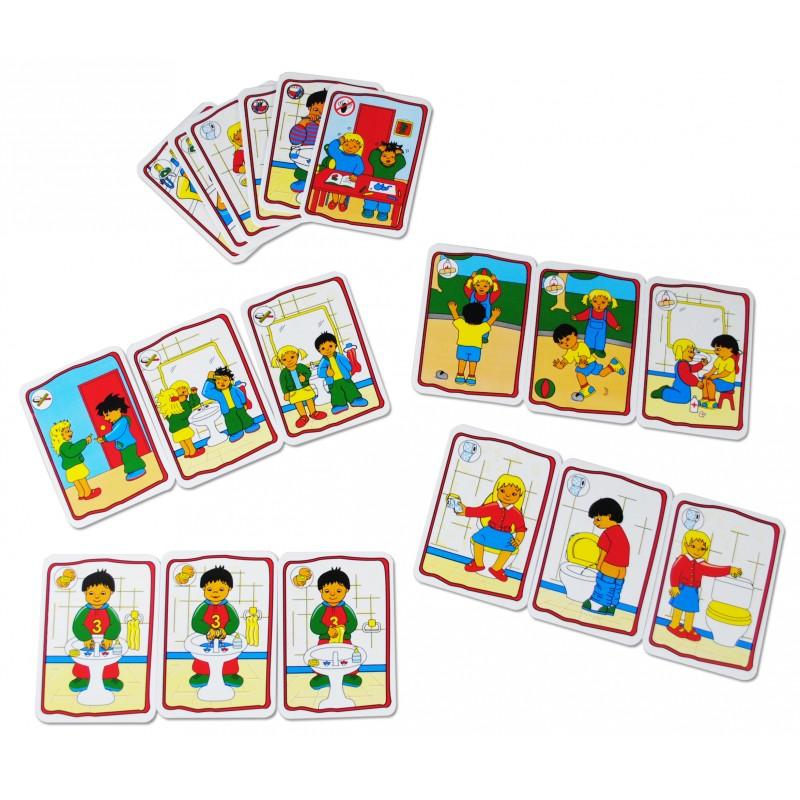Joc educativ - Reguli de igienă imagine edituradiana.ro