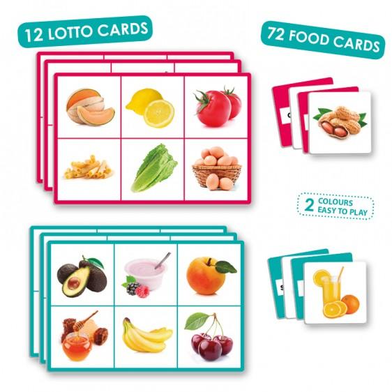 Joc loto cu 72 de alimente imagine edituradiana.ro