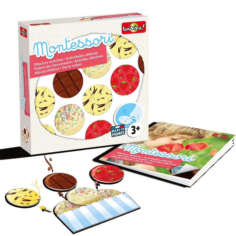 Joc Montessori de asociere - Eu miros imagine edituradiana.ro