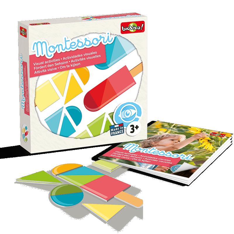 Joc Montessori de asociere - Eu observ imagine edituradiana.ro