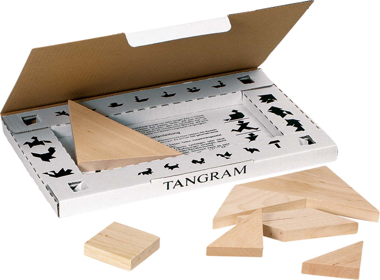 Joc puzzle - Tangram imagine edituradiana.ro