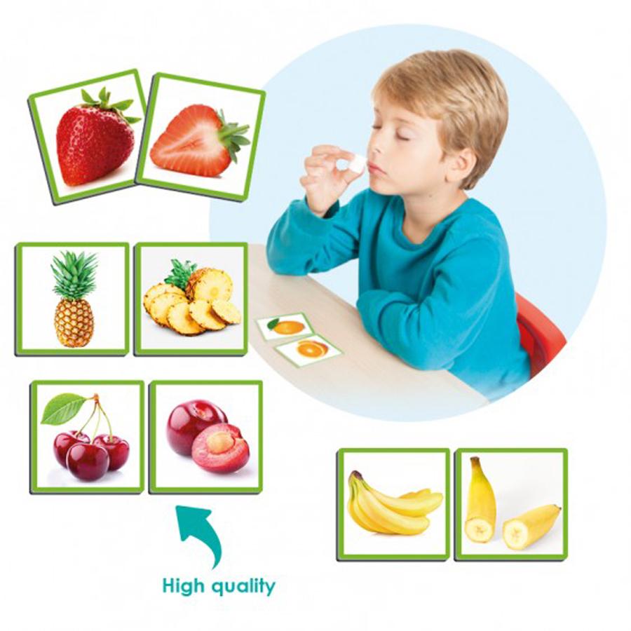 Joc senzorial - Fructele și mirosul lor imagine edituradiana.ro