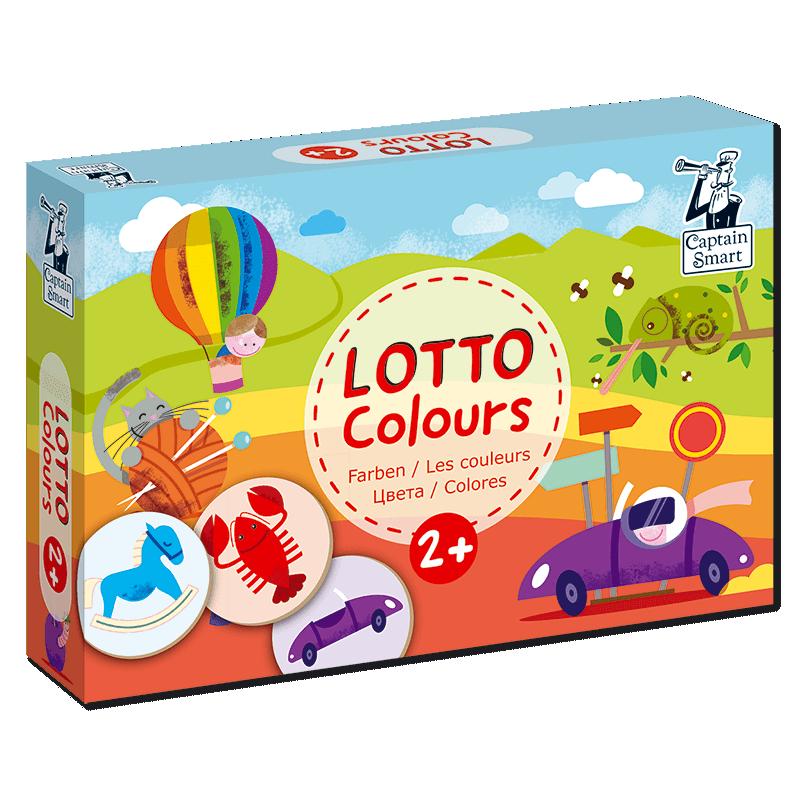 Joc de asociere cu 6 planșe și 36 de jetoane - Culori imagine edituradiana.ro