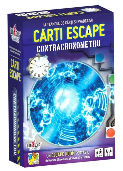 Joc de cărți Escape - Contracronometru imagine edituradiana.ro