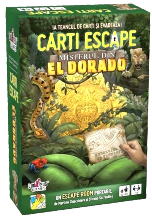 Joc de cărți Escape - Misterul din El Dorado imagine edituradiana.ro