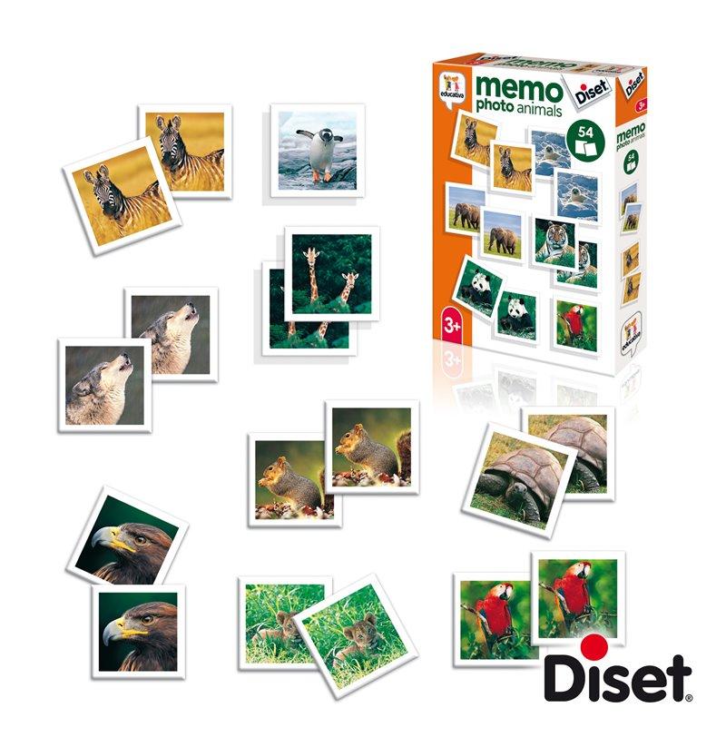 Joc de memorie cu 54 de carduri - Animale imagine edituradiana.ro