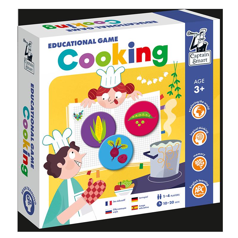 Joc educativ cu CD audio în limba engleză - Cel mai bun bucătar imagine edituradiana.ro