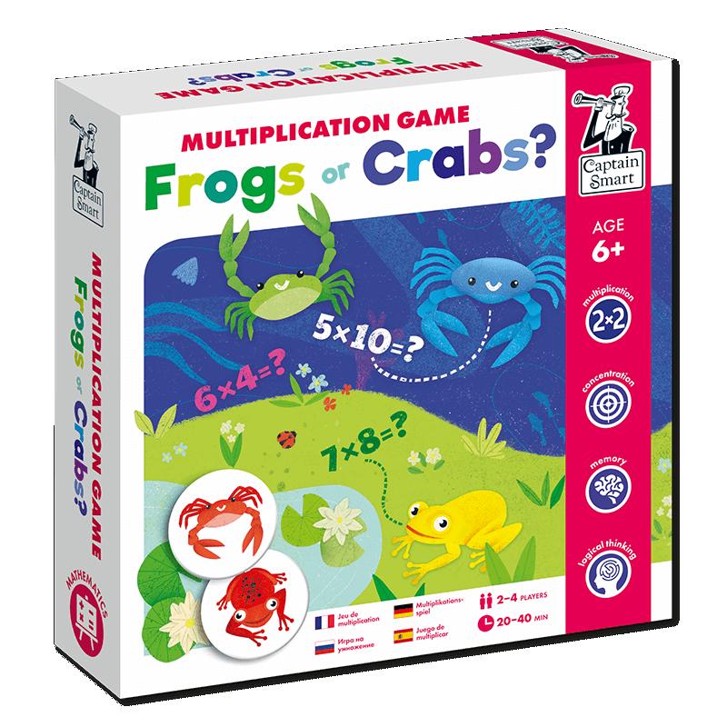 Joc matematic pentru învățarea înmulțirii - Broscuțe ori Crabi? imagine edituradiana.ro
