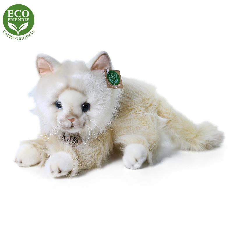 Jucărie din pluș - Pisică persană crem, 30 cm imagine edituradiana.ro