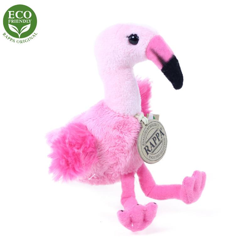 Jucărie din pluș - Pui de flamingo, 15 cm imagine edituradiana.ro