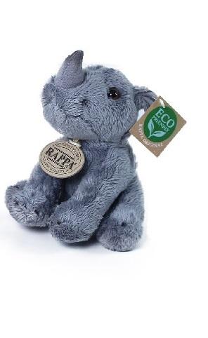 Jucărie din pluș - Pui de rinocer, 15 cm imagine edituradiana.ro