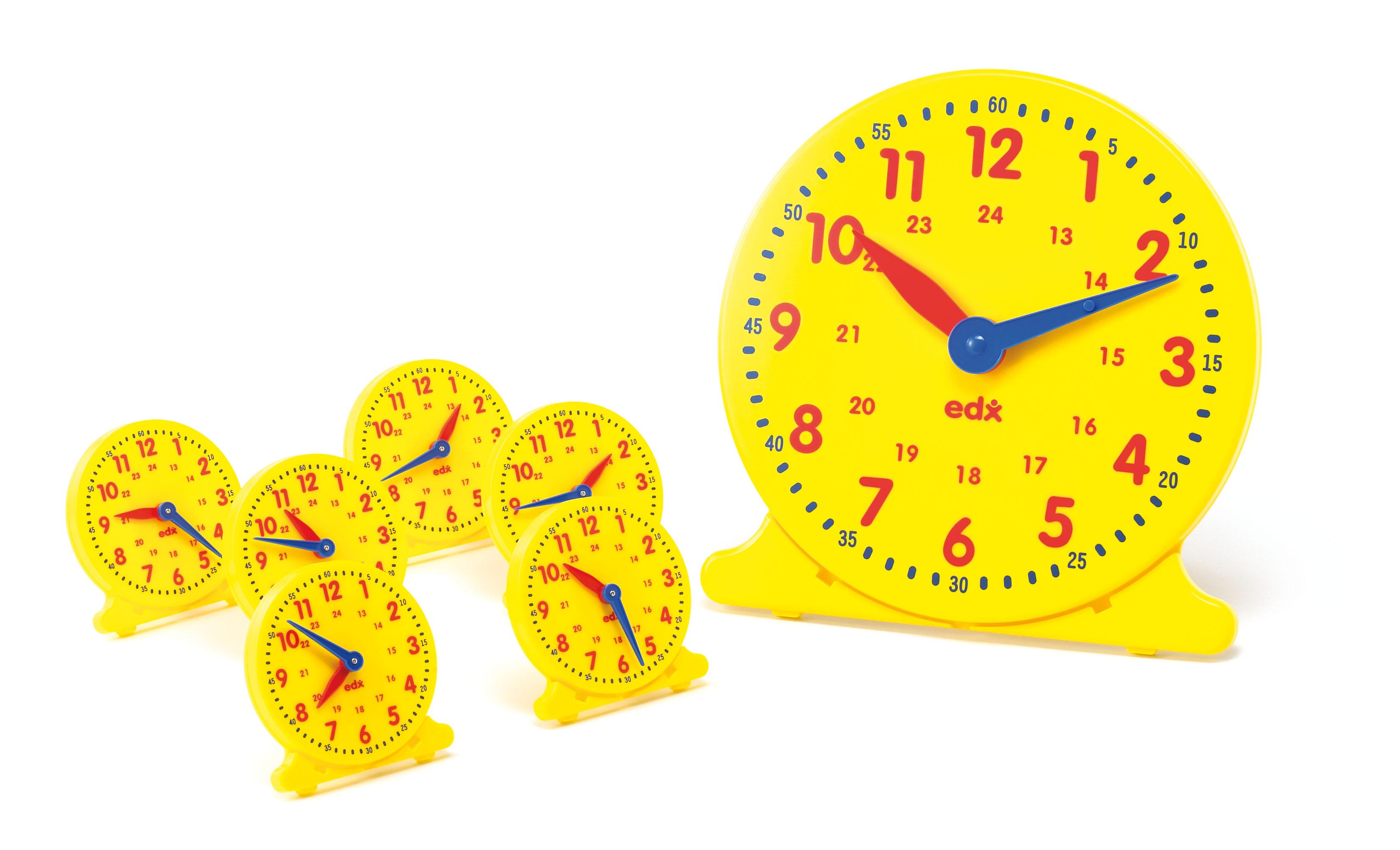Kit de 24 de ceasuri pentru clasă imagine edituradiana.ro
