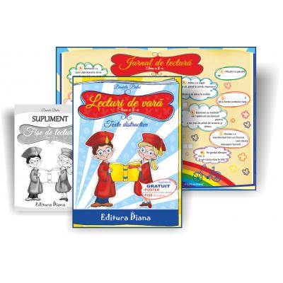 Lecturi de vara clasa a II-a. Texte distractive si jocuri creative, autor Daniela Bulai imagine edituradiana.ro