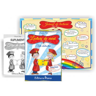 Lecturi de vara clasa a III-a. Texte distractive si jocuri creative, autor Daniela Bulai imagine edituradiana.ro