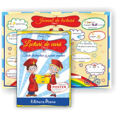 Lecturi de vara clasa I. Texte distractive si jocuri creative, autor Daniela Bulai imagine edituradiana.ro