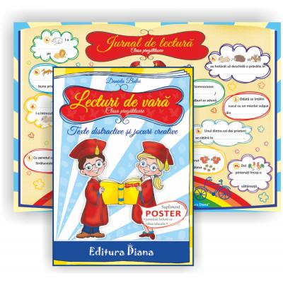 Lecturi de vara clasa pregatitoare. Texte distractive si jocuri creative, autor Daniela Bulai imagine edituradiana.ro