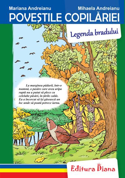 Legenda bradului - Poveștile copilăriei - Tip Acordeon imagine edituradiana.ro