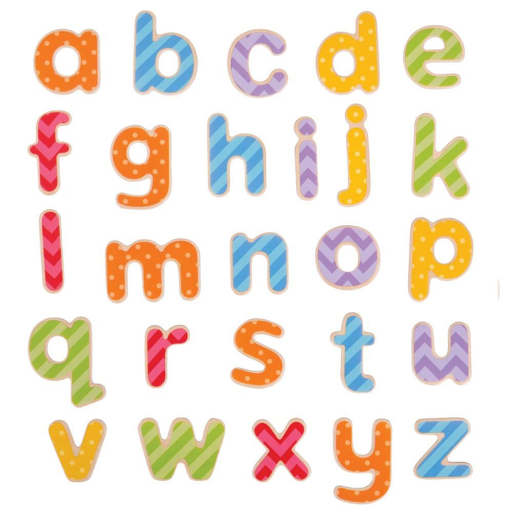 Litere magnetice (litere mici de tipar) imagine edituradiana.ro