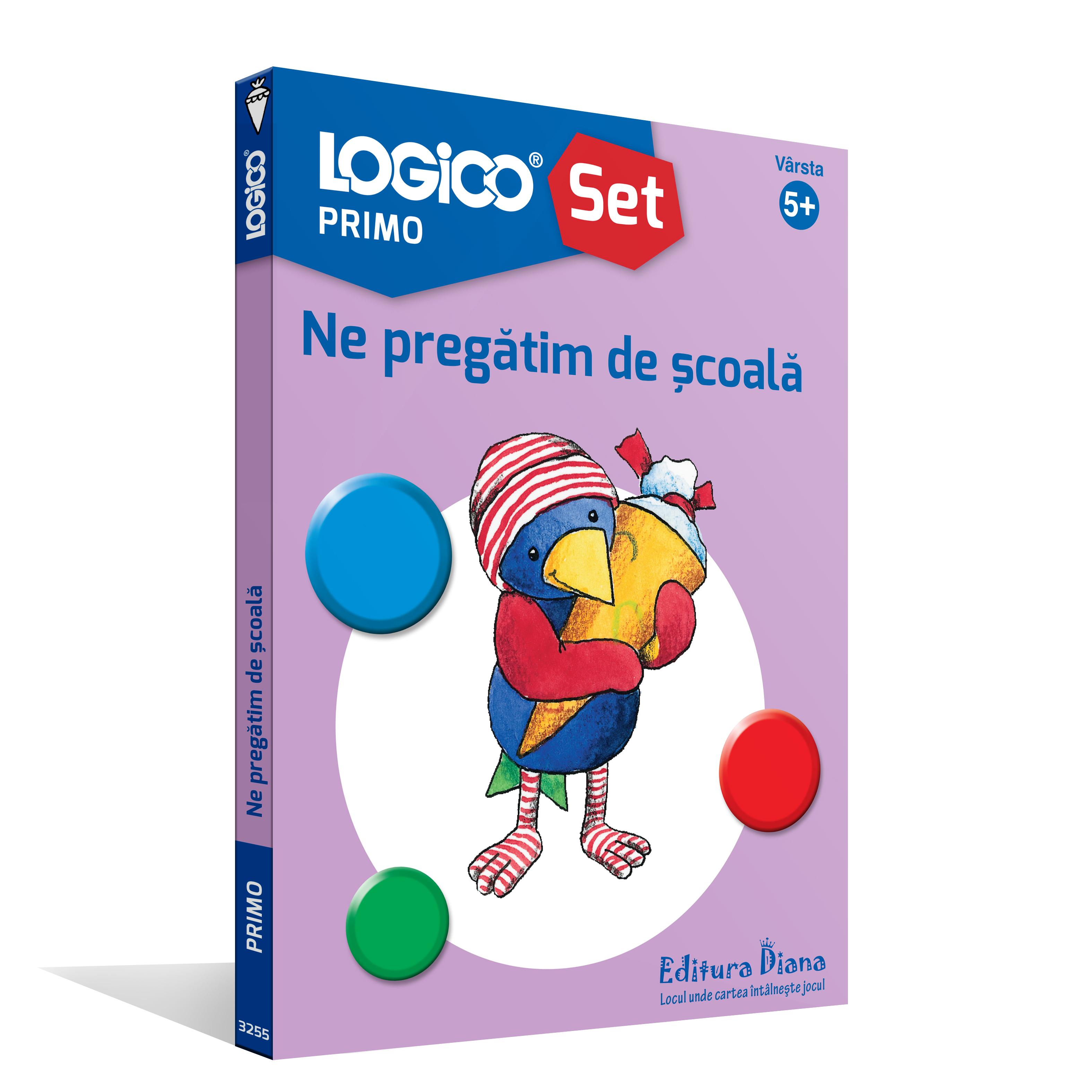 LOGICO PRIMO - Ne pregătim de școală (5+) imagine edituradiana.ro