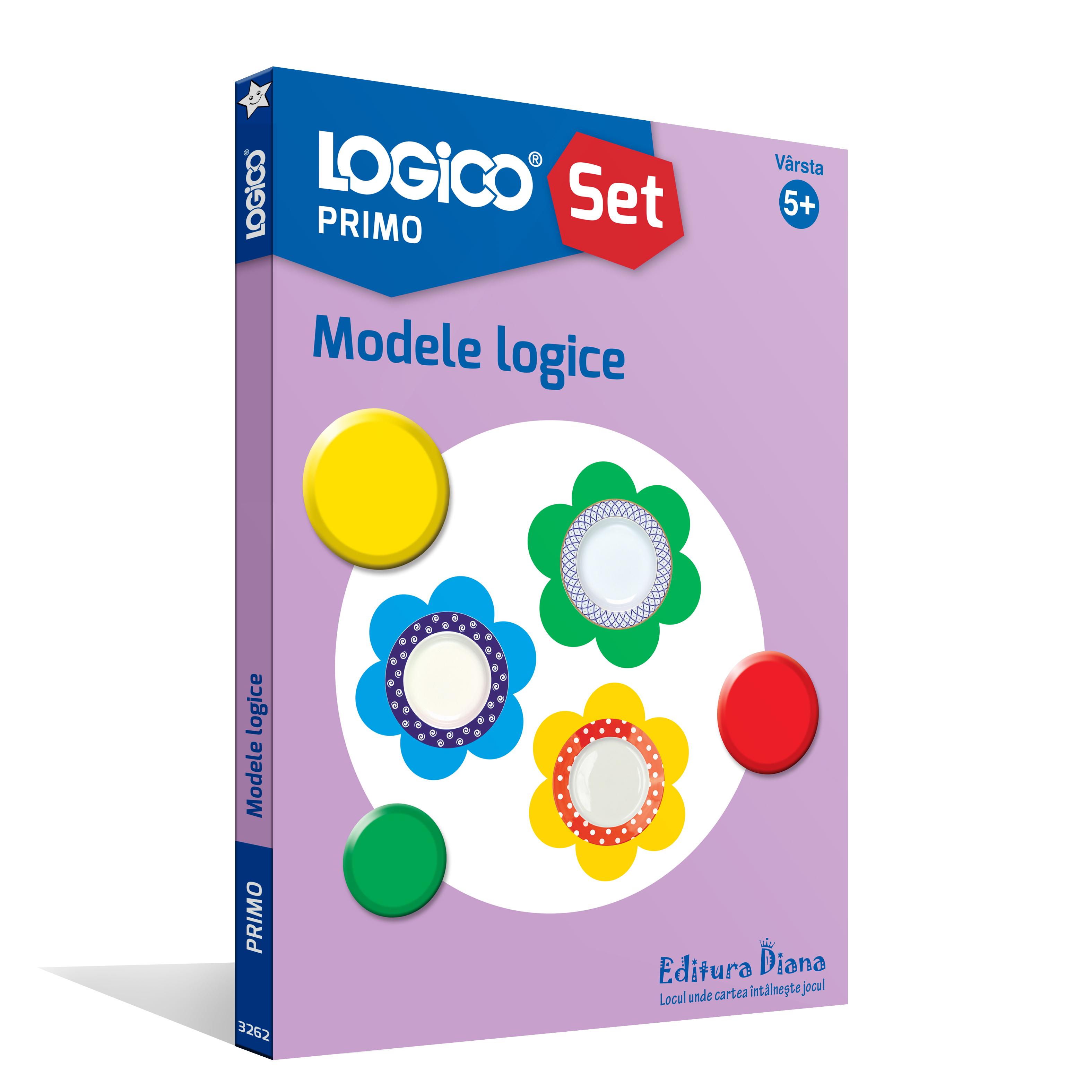 LOGICO PRIMO - SET CU RAMĂ - Modele logice (5+) imagine edituradiana.ro