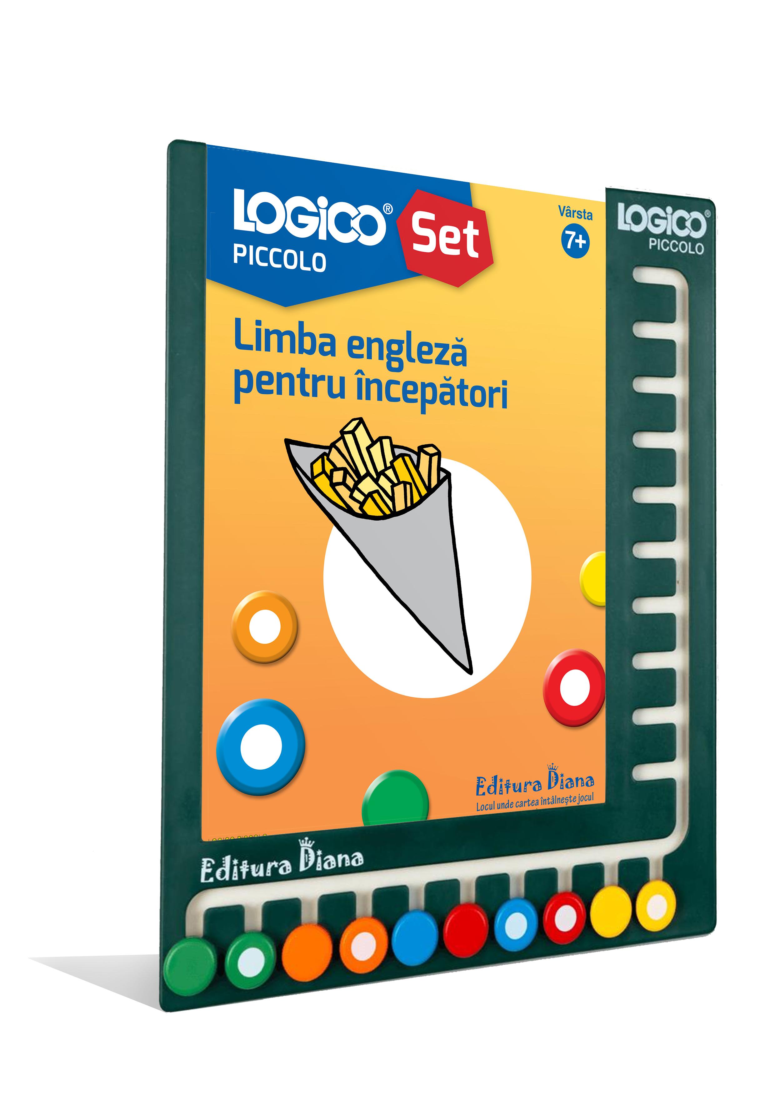 LOGICO PICCOLO - SET CU RAMĂ - Limba engleză pentru începători (7+) imagine edituradiana.ro